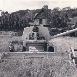 Clayson Combine M140-sold to Herbert Hiles-1965-Cost £4350
