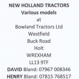 New Holland Tractors: www.bowland-tractors.co.uk